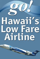 Go Airlines - Hawaii's Low Airfare